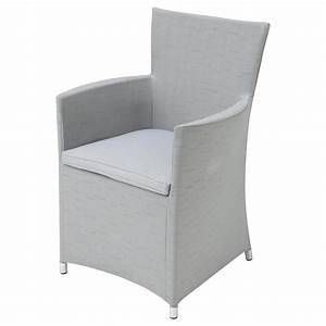 Fauteuil Gris Clair : fauteuil de jardin en tissu gris clair ibiza maisons du monde ~ Teatrodelosmanantiales.com Idées de Décoration