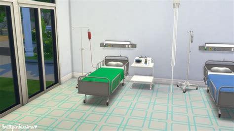 brittpinkiesims hospital set sims  downloads