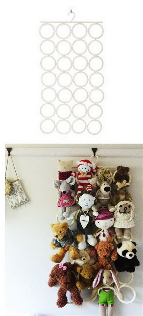 Opbergen Knuffels by 25 Clever Creative Ways To Organize Stuffed Toys