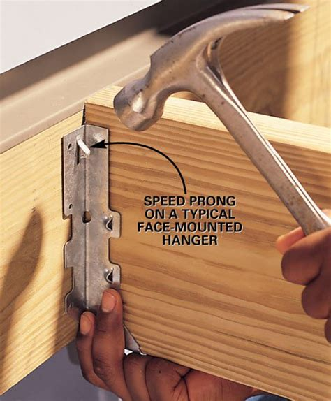 deck joist hangers hardware build a home climbing wall getout