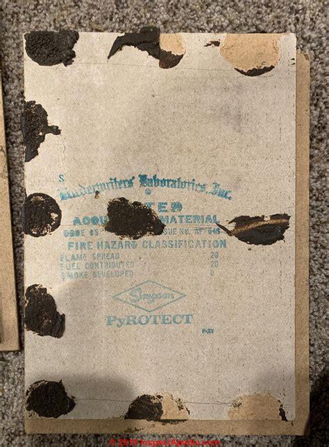 asbestos  simpson ceiling tiles  simpson forestone