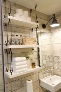 Bathroom Shelf Ideas 25 Best Ideas About Bathroom Shelves On Half Bath Decor Diy Bathroom Decor And
