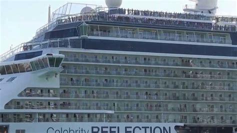 celebrity reflection leaves cruise port  miami saturday