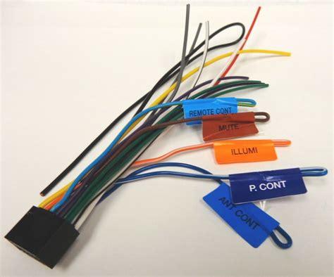 L Wiring Harness by Kenwood Original Wire Harness Ddx271 Ddx371 Ebay