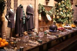 Christmas Centerpieces For Dining Room Tables by Harry Potter Experience In London This Christmas With