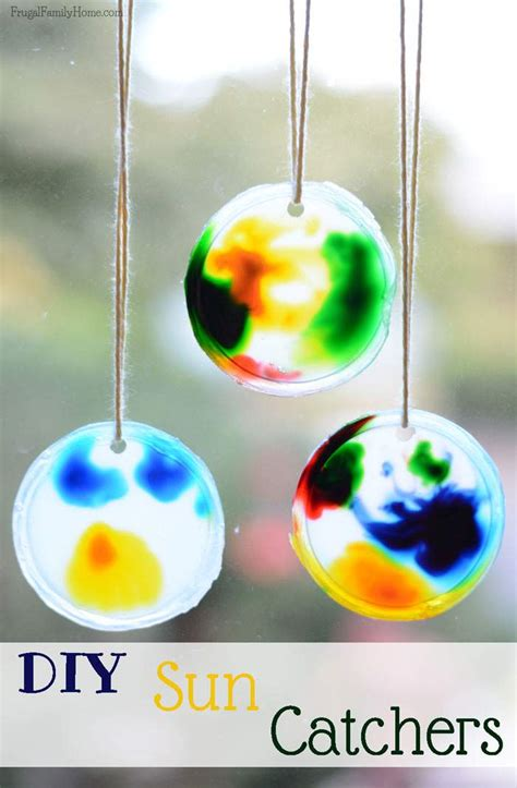 Sun Catcher, Crafts For Kids  Frugal Family Home