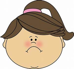Cartoon Sad Girl Face - ClipArt Best