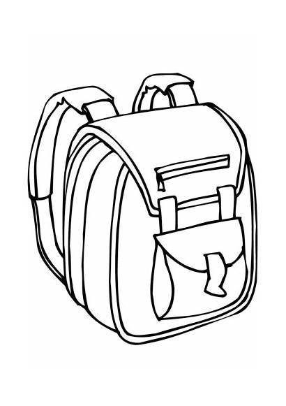 Bag Coloring Printable Pages Version Categories Factory