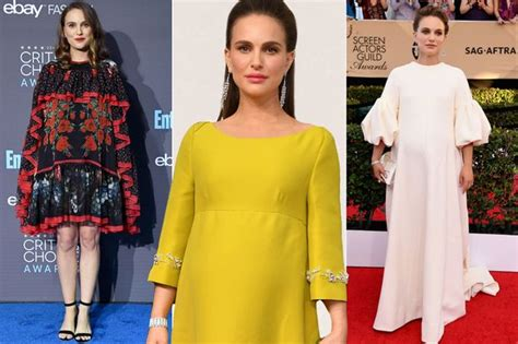 Natalie Portman's Best Maternity Style As She Wows On The Red Carpet During Her Second Pregnancy
