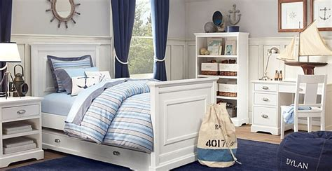 Maritimes Schlafzimmer Schlafzimmer In Weiss Und Blau Einrichten by Maritimes Schlafzimmer Schlafzimmer In Wei 223 Und Blau