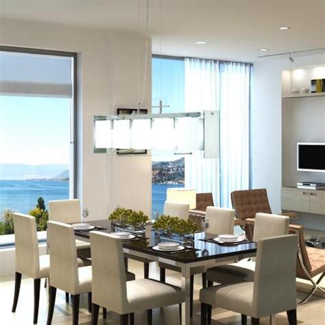 lustre pour salle a manger le suspendue rectangulaire en verre pour salle 224 manger