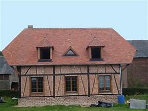 couvreur 76 toiture tuile en terre cuite Mazire