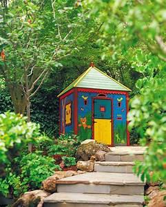 Cabane de jardin enfant en 50 projets a faire soi meme for Salle de bain design avec décoration noel extérieur jardin