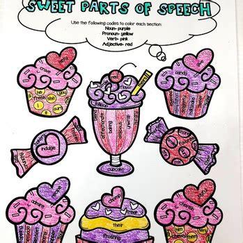 parts  speech  valentines day  rockin resources tpt