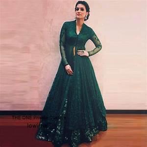 green turkish kaftan 2017 indian saree lace long sleeve With robe de soirée 2 pièces