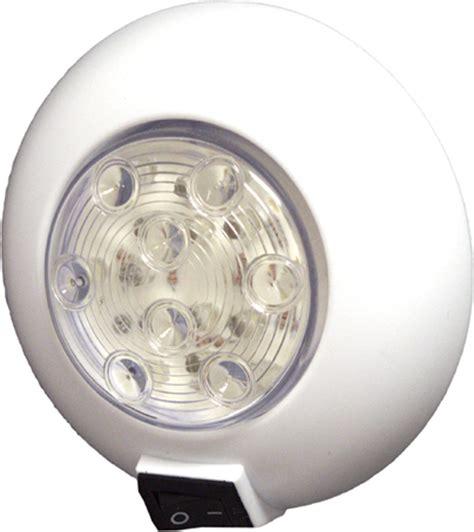 marine led cabin lights 12 white 9 red led with switch 50023822 seasense