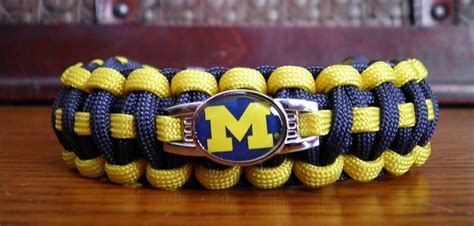 michigan wolverines colors of michigan wolverines college paracord