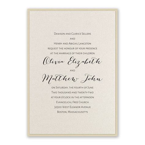 Layered Elegance Invitation Invitations By Dawn