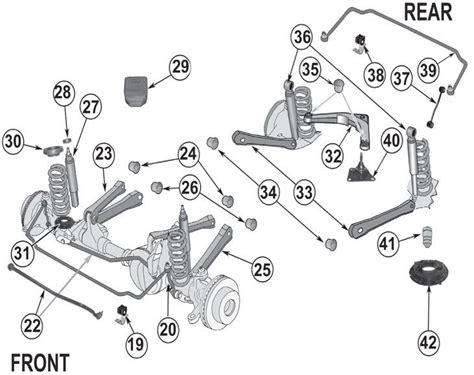 jeep grand cherokee wj suspension parts