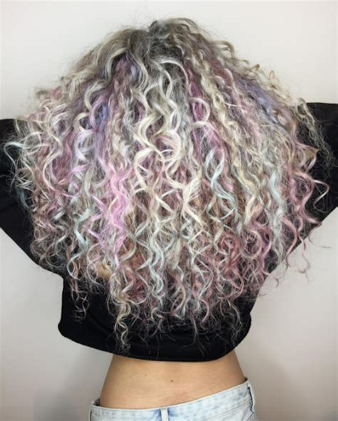 hair color trends    meet  curly hairgoals