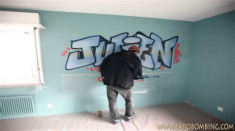 graffiti chambre ado graffeur ch prénom graffiti au spray pour chambre d