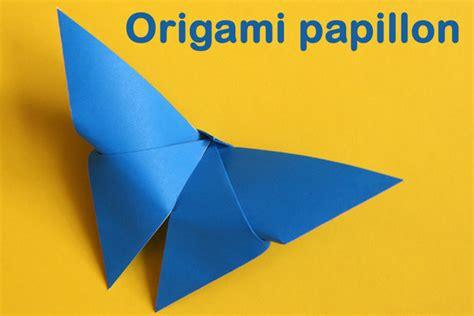 Un Origami Délicat De Papillon