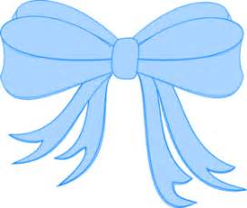 Baby blue bow clipart - Cliparting.com
