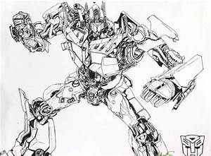 Optimus Coloring Pages - Coloring Home