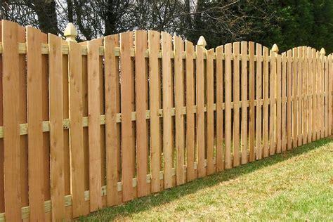 scalloped shadow box fence atlas custom wood fence