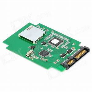 Sd To Hdd : hi speed dual chip sd to sata hdd adapter converter ~ Jslefanu.com Haus und Dekorationen