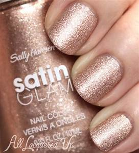 New! Sally Hansen Satin Glam Nail Polish Swatches & Review ...