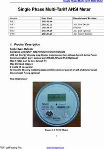 Edmi Nc30 Electricity Meter User Manual Nc30 V1 0 6