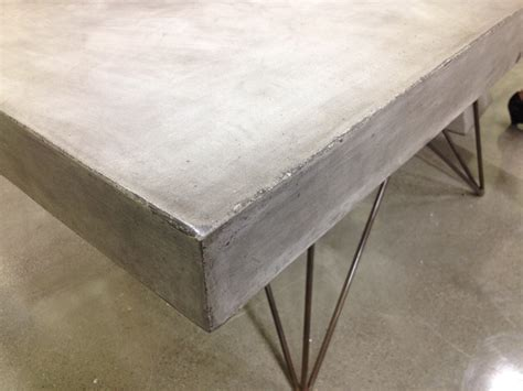 cement top dining table modern concrete dining table mecox gardens