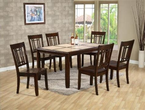 Buy Low Price AtHomeMart 5PC Tile Top Dining Table and