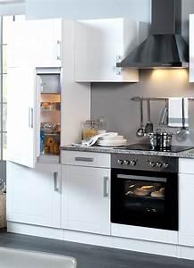 Küchenzeile Weiß Hochglanz : k chenzeile varel k che mit e ger ten breite 270 cm hochglanz wei k che k chenzeilen ~ Indierocktalk.com Haus und Dekorationen
