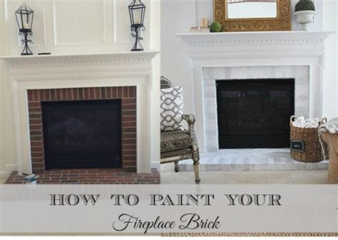 how to paint brick fireplace how to paint your brick fireplace surround 11 magnolia