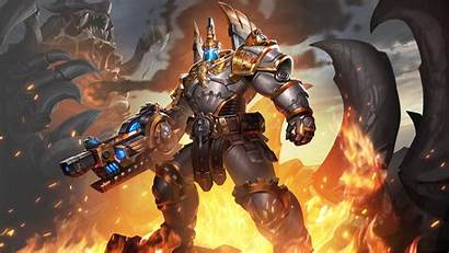 Paladins Atlas Legionnaire Wallpapers Background Jenos Exarch