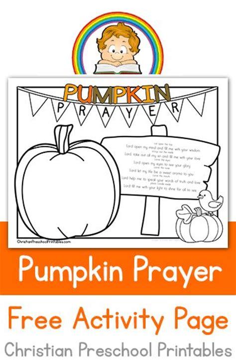 pumpkin prayer coloring page crafts amp stuff 238 | 74facf705e19820b8bdcad76326d9ab5 pumpkin printable fall months