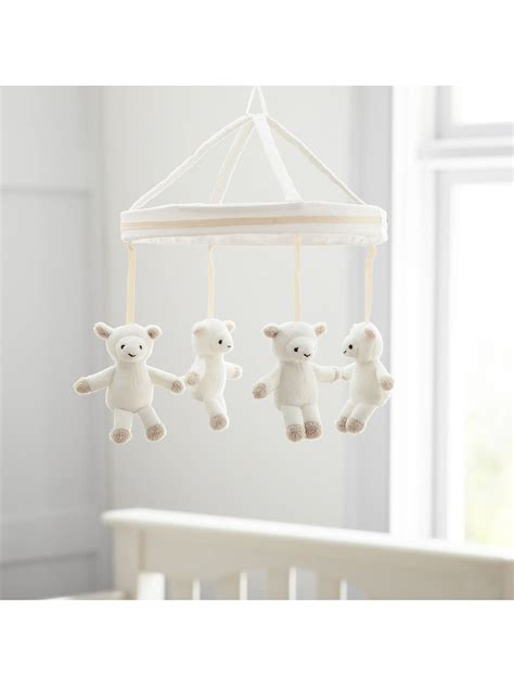 Mobile Pottery Barn by Pottery Barn Plush Mobile White Wash At