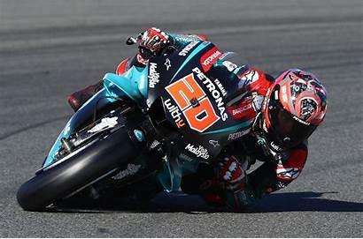 Fabio Quartararo Valencia Crash Motogp Giorno Primo