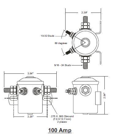 Intellitec Amp Battery Isolator Relay