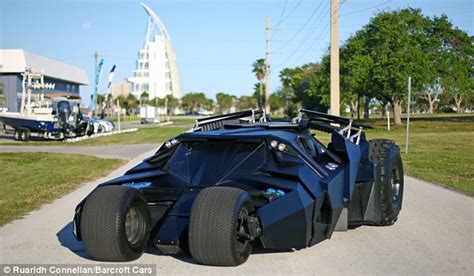 batman real car florida brothers marc and shanon parker make cars from