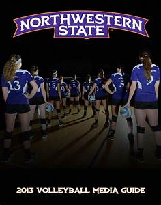 2013 Northwestern State Volleyball Media Guide by ...