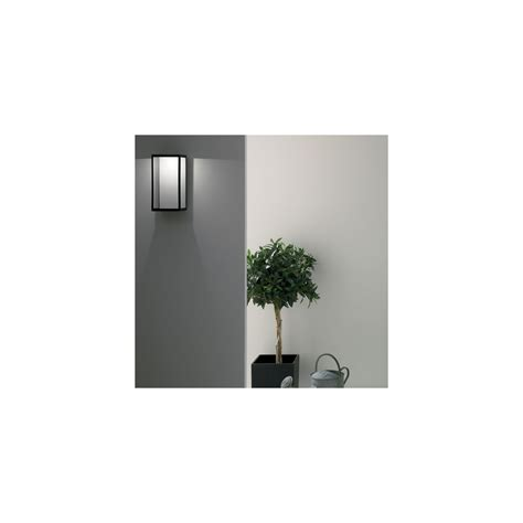 astro lighting puzzle 0931 black outdoor wall light