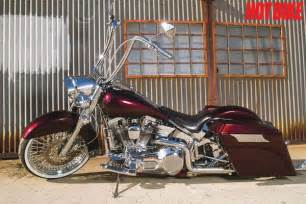 Front Wheel Stand Motorcycle by Multiple Personalities Custom Harley Davidson Heritage