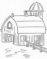 Coloring Farm3 Homes Easily sketch template