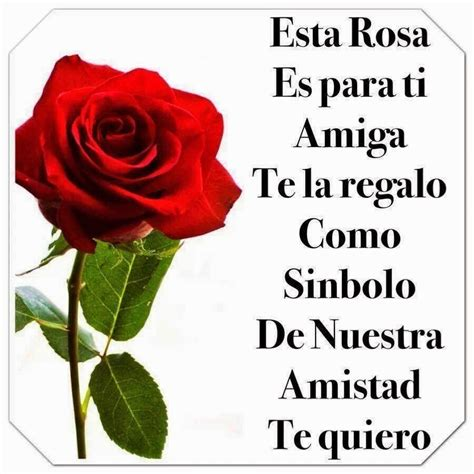 frases para tu muro esta rosa es para ti amistad friendship quotes friendship quotes