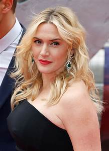 Kate Winslet Wearing Jenny Packham Gown - 'Divergent ...  Kate