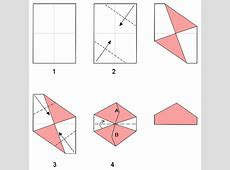 Dodecahedron Instructions with A6 paper