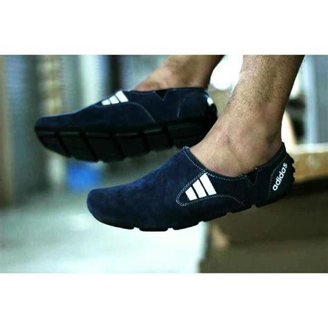 Sepatu Santai Kain Pria sepatu casual pria slip on loafers kerja sepatu santai